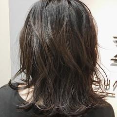ヘアアレンジ ミディアム ゆるふわ レイヤーカット ヘアスタイルや髪型の写真・画像