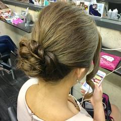 結婚式 ミディアム ヘアアレンジ 成人式 ヘアスタイルや髪型の写真・画像