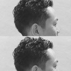 刈り上げ ウェットヘア ストリート ボーイッシュ ヘアスタイルや髪型の写真・画像