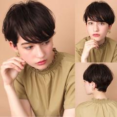 ナチュラル 吉瀬美智子 田丸麻紀 ショート ヘアスタイルや髪型の写真・画像