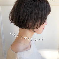 モテ髪 大人可愛い ナチュラル ショート ヘアスタイルや髪型の写真・画像