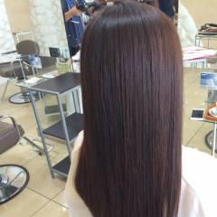 ナチュラル ロング 秋 イノセントカラー ヘアスタイルや髪型の写真・画像