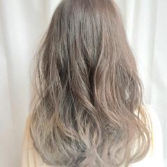 ゆるふわ ガーリー セミロング ピュア ヘアスタイルや髪型の写真・画像