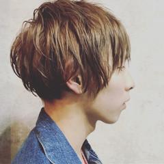 マッシュ メンズ ボーイッシュ 坊主 ヘアスタイルや髪型の写真・画像