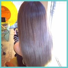 外国人風 外国人風カラー ガーリー グレージュ ヘアスタイルや髪型の写真・画像