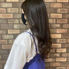 ロングヘアスタイル ロング 透明感 イルミナカラー ヘアスタイルや髪型の写真・画像