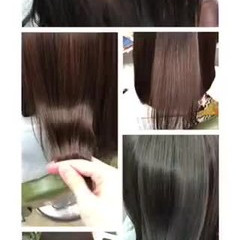 ツヤ髪 ナチュラル 美髪 セミロング ヘアスタイルや髪型の写真・画像