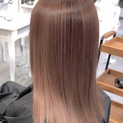 ブリーチ必須 ナチュラル バレイヤージュ 透明感カラー ヘアスタイルや髪型の写真・画像