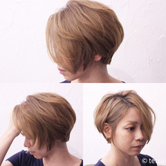 ナチュラル ショート 外国人風カラー ヘアスタイルや髪型の写真・画像