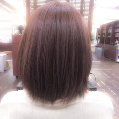 色気 グレージュ ボブ ガーリー ヘアスタイルや髪型の写真・画像