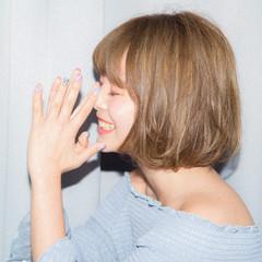 ミニボブ ナチュラル 小顔ヘア ボブ ヘアスタイルや髪型の写真・画像