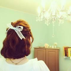 ガーリー フェミニン 愛され モテ髪 ヘアスタイルや髪型の写真・画像
