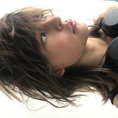ミディアム ウルフカット パーマ ヘアアレンジ ヘアスタイルや髪型の写真・画像