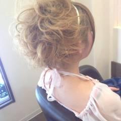 モテ髪 愛され コンサバ ヘアアレンジ ヘアスタイルや髪型の写真・画像