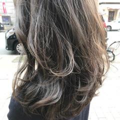 外国人風 ストリート ロング ハイライト ヘアスタイルや髪型の写真・画像