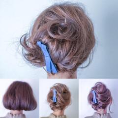 ショート 夏 大人女子 パーティ ヘアスタイルや髪型の写真・画像