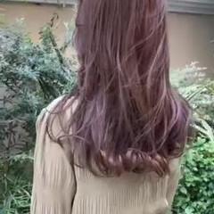 大人ロング ゆるふわパーマ 毛先パーマ デジタルパーマ ヘアスタイルや髪型の写真・画像