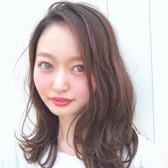 モテ髪 ナチュラル モテ髮シルエット 簡単ヘアアレンジ ヘアスタイルや髪型の写真・画像