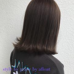 外国人風カラー アッシュ モード グレージュ ヘアスタイルや髪型の写真・画像