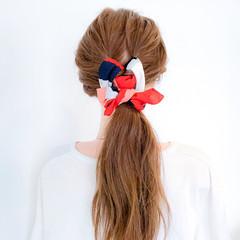 ロング ヘアアクセ パーティ ヘアアレンジ ヘアスタイルや髪型の写真・画像