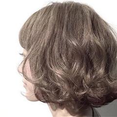 ゆるふわ パーマ モテ髪 フェミニン ヘアスタイルや髪型の写真・画像