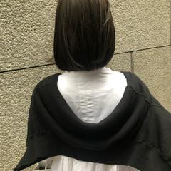 外ハネ ミニボブ ボブ モード ヘアスタイルや髪型の写真・画像