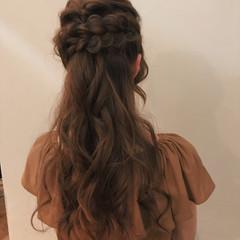 エレガント ロング 上品 結婚式 ヘアスタイルや髪型の写真・画像