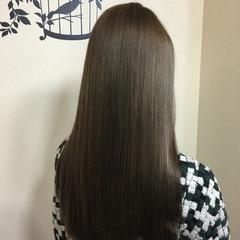 ロング 外国人風 渋谷系 マット ヘアスタイルや髪型の写真・画像