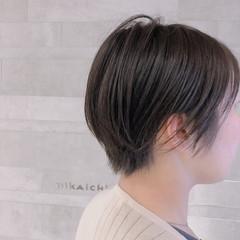 ミニボブ 圧倒的透明感 オシャレ ナチュラル ヘアスタイルや髪型の写真・画像