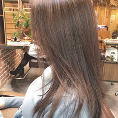 ハイライト ナチュラル ロング アンニュイほつれヘア ヘアスタイルや髪型の写真・画像