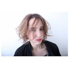 こなれ感 ハイライト 小顔 ナチュラル ヘアスタイルや髪型の写真・画像