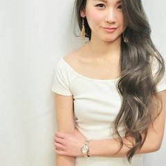 大人かわいい アッシュ コンサバ レイヤーカット ヘアスタイルや髪型の写真・画像