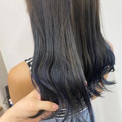 イメチェン ダブルカラー インナーカラー ハイトーンカラー ヘアスタイルや髪型の写真・画像