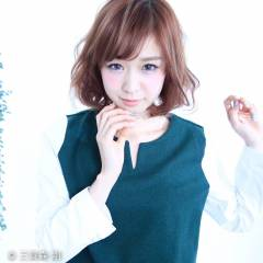 ショート ゆるふわ 大人かわいい 外国人風 ヘアスタイルや髪型の写真・画像