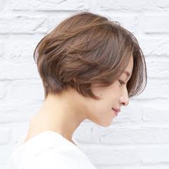 ショート ショートヘア ハンサムショート ショートボブ ヘアスタイルや髪型の写真・画像