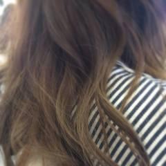 グラデーションカラー ダブルカラー 秋 ヘアスタイルや髪型の写真・画像