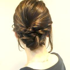 簡単 ショート ボブ ヘアアレンジ ヘアスタイルや髪型の写真・画像