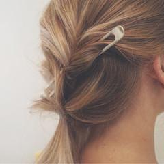 ヘアアレンジ 涼しげ 色気 フェミニン ヘアスタイルや髪型の写真・画像