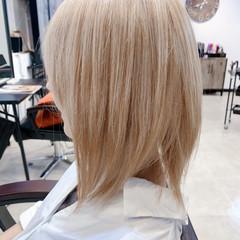 ストリート ダブルカラー ベージュ ハイトーンカラー ヘアスタイルや髪型の写真・画像