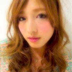 大人かわいい ゆるふわ 愛され 外国人風 ヘアスタイルや髪型の写真・画像