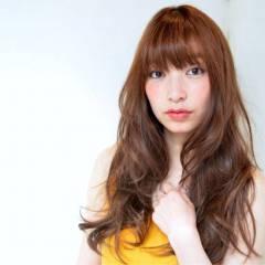 モテ髪 ゆるふわ ロング フェミニン ヘアスタイルや髪型の写真・画像