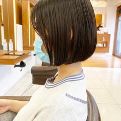 まとまるボブ 前下がりボブ モテボブ ミニボブ ヘアスタイルや髪型の写真・画像