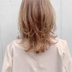 モテ髪 ひし形シルエット フェミニン おフェロ ヘアスタイルや髪型の写真・画像