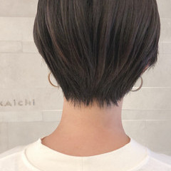 ショートヘア こなれ感 圧倒的透明感 ナチュラル ヘアスタイルや髪型の写真・画像