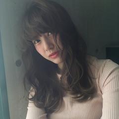 ガーリー パーマ 外国人風 ロング ヘアスタイルや髪型の写真・画像