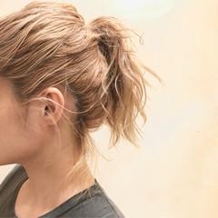 ブロンド プラチナブロンド クリームブロンド ハイトーンカラー ヘアスタイルや髪型の写真・画像