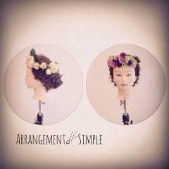 アップスタイル 結婚式 ヘアアレンジ 大人かわいい ヘアスタイルや髪型の写真・画像