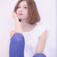 大人女子 ロブ 爽やか かっこいい ヘアスタイルや髪型の写真・画像