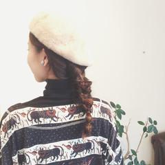 ショート ねじり ヘアアレンジ ロング ヘアスタイルや髪型の写真・画像