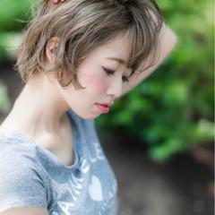 ストリート ショート ゆるふわ 外国人風 ヘアスタイルや髪型の写真・画像